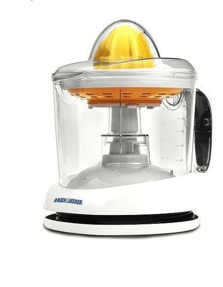 Electric Orange Juicer Citrus LemonPress Fruit Squeezer