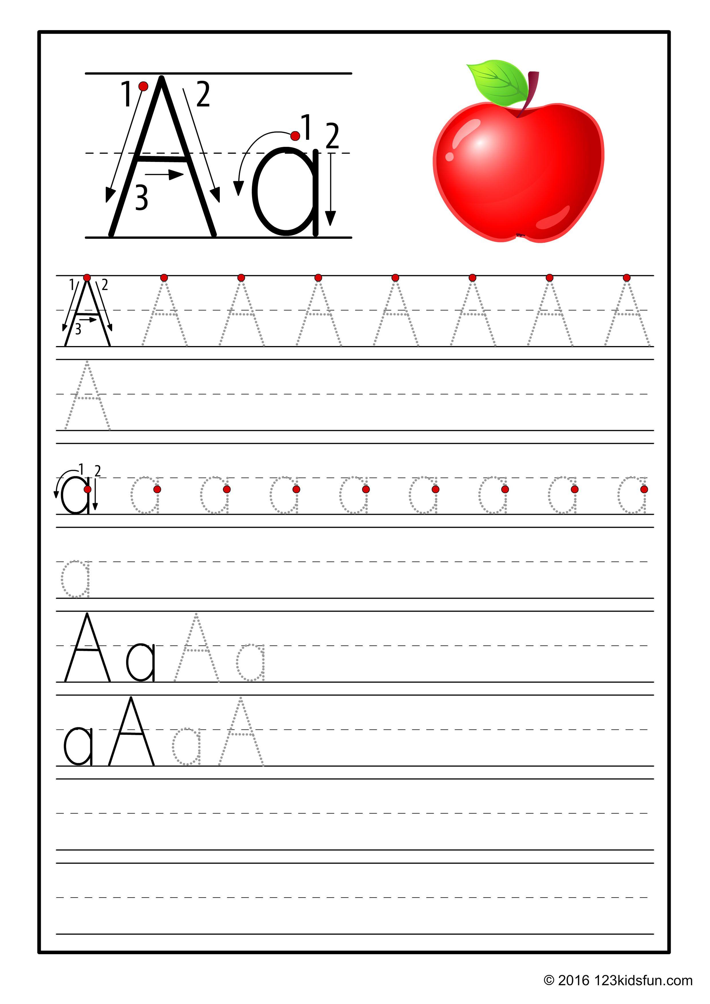 123kidsfun Com Alphabet 1