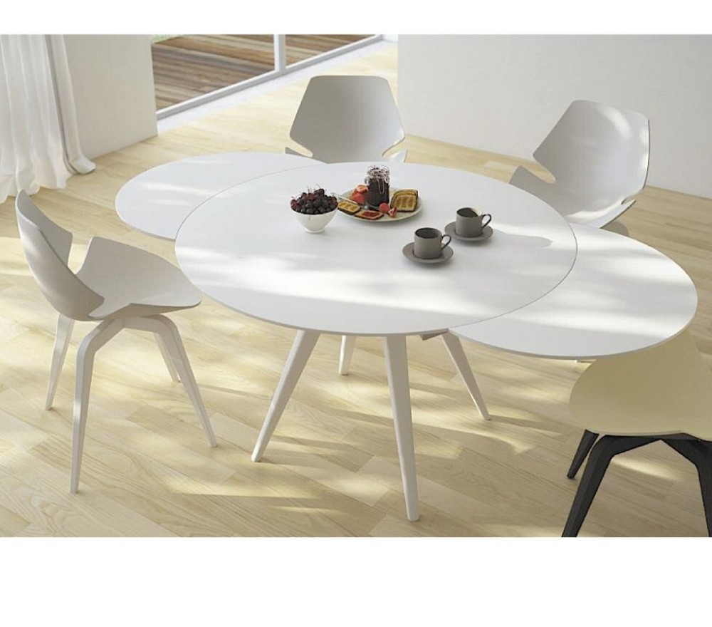 Round Extending Dining Table Layjao In 2021 Dining Room Table Set Dining Table Dining Room Table