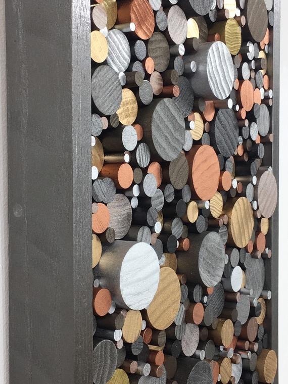 Wood wall art -