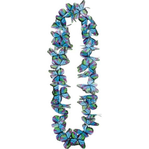 Cool Butterfly Lei 40in - Party City