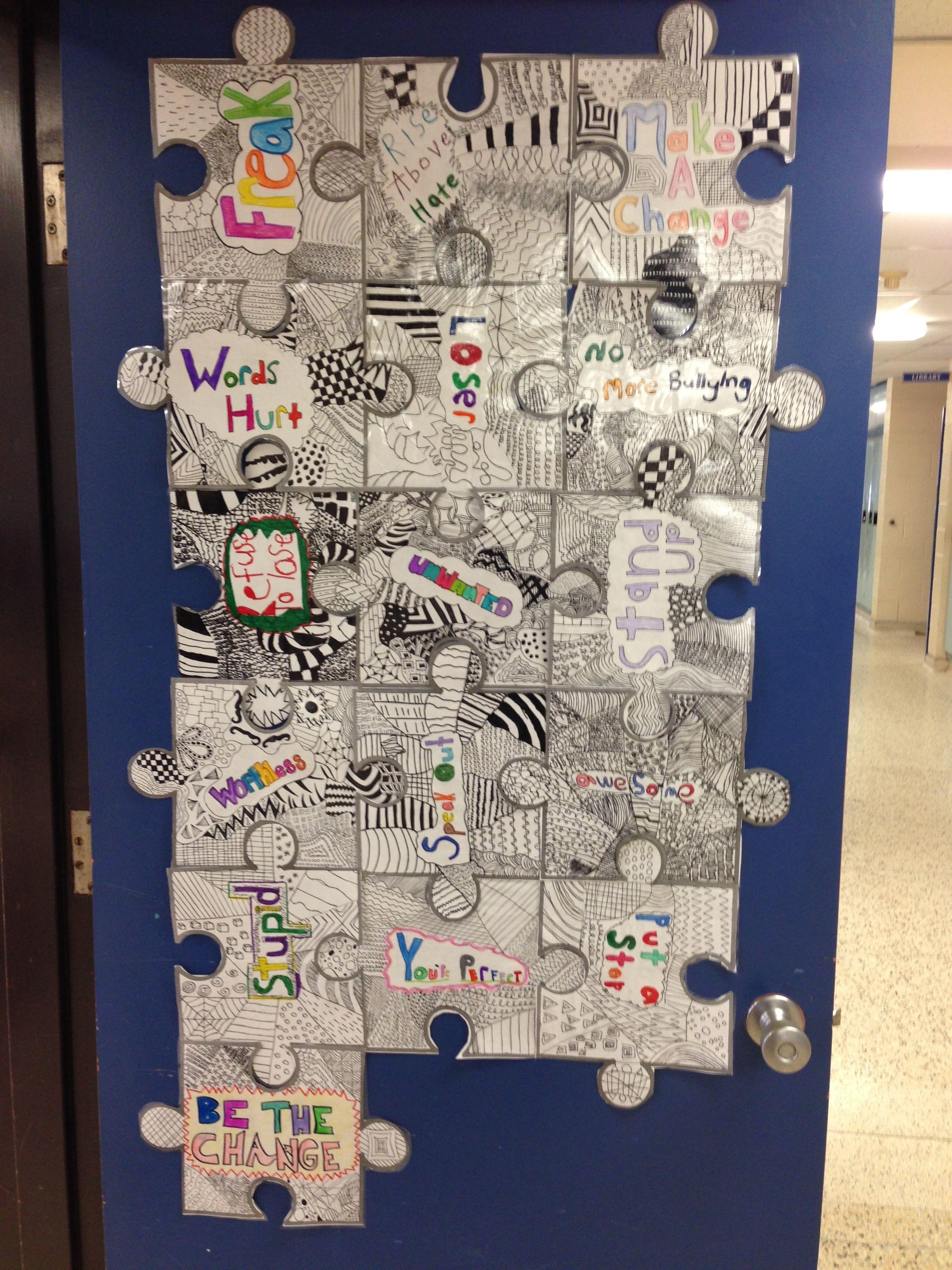 Health Art Anti Bullying 3rd 5th Grade