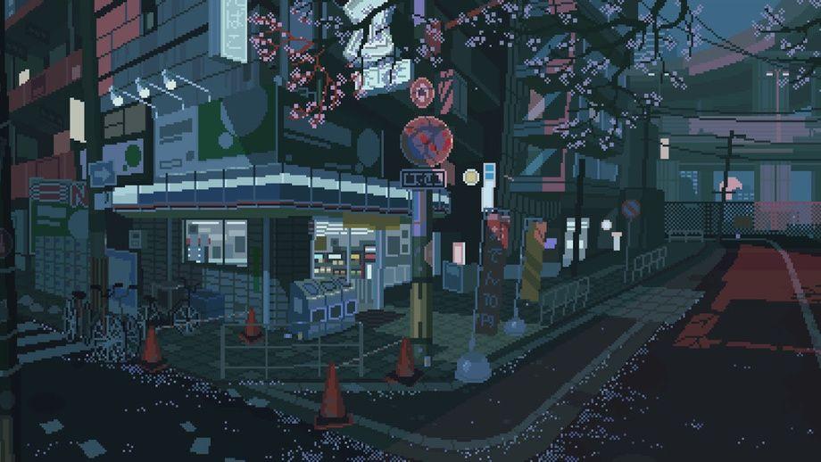 1hhsc48rqr Waneella On Patreon Pixel Art Anime Scenery Pixel Animation