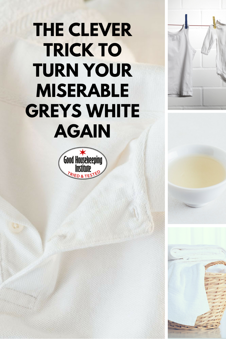 How to turn greyed whites white again (With images)   Cleaning ...