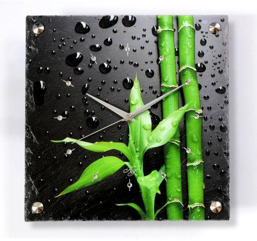 Bambus bringt Glück! Und das geht Ihnen mit unserer Uhr nie aus.