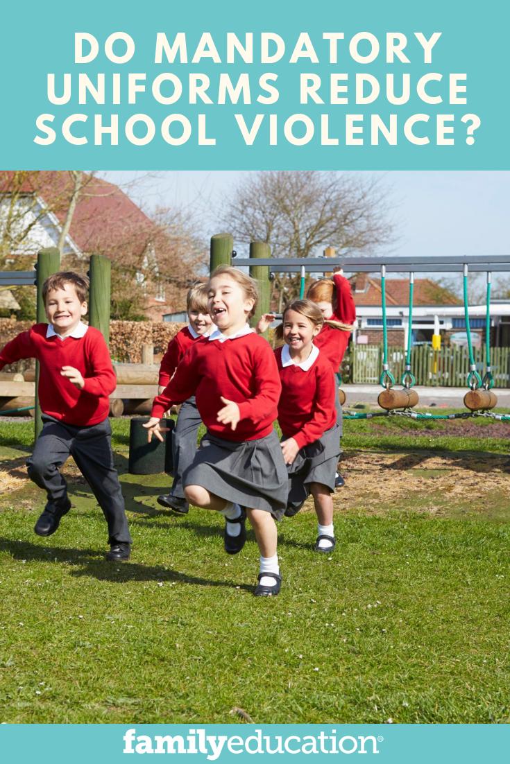 school uniforms reduce violence