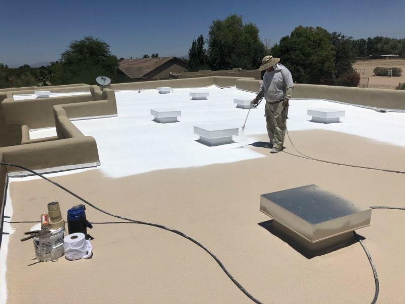 Pin On Foam Roof