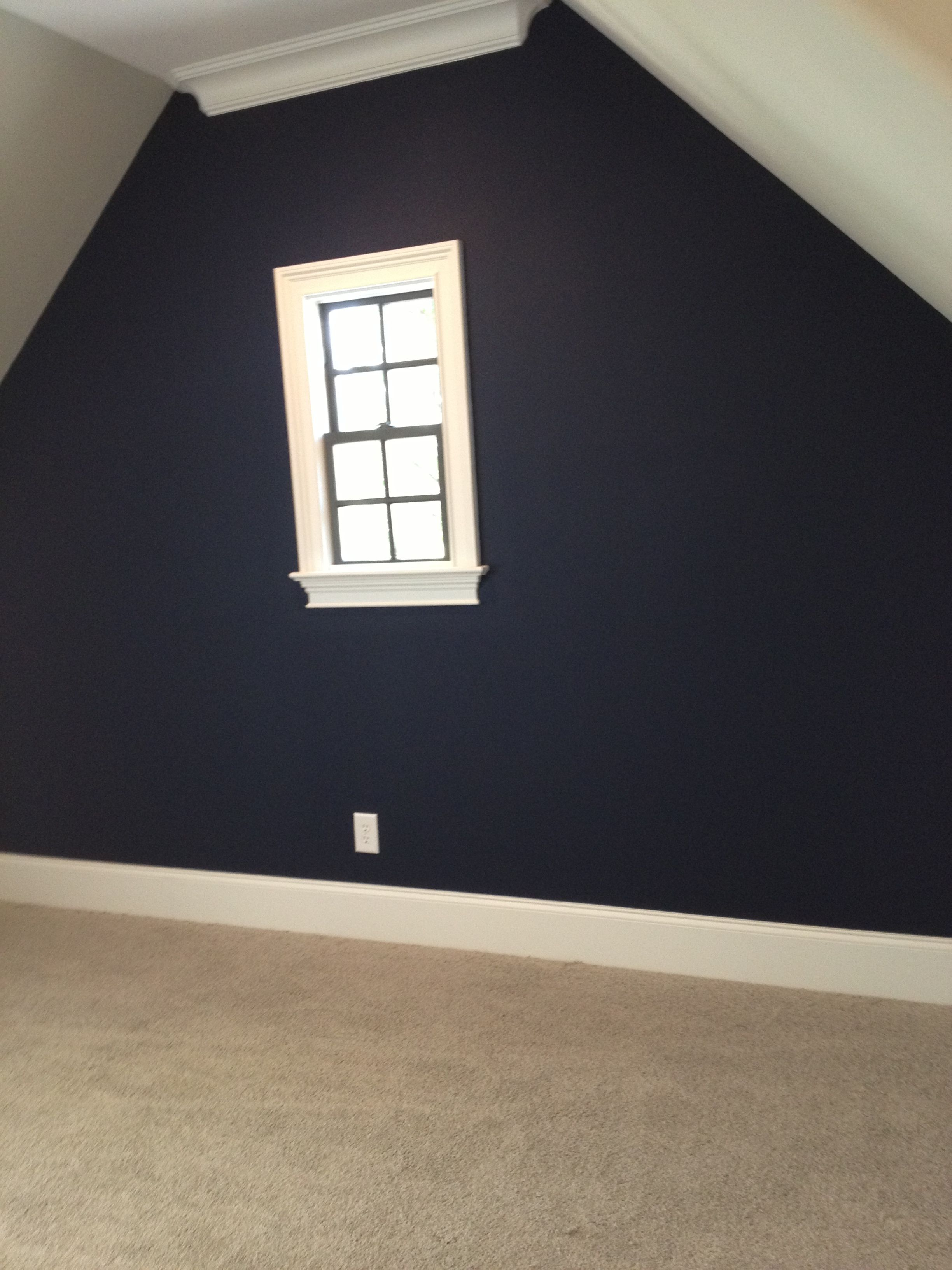 Sherwin Williams Naval Accent Wall Chez Moi In 2019