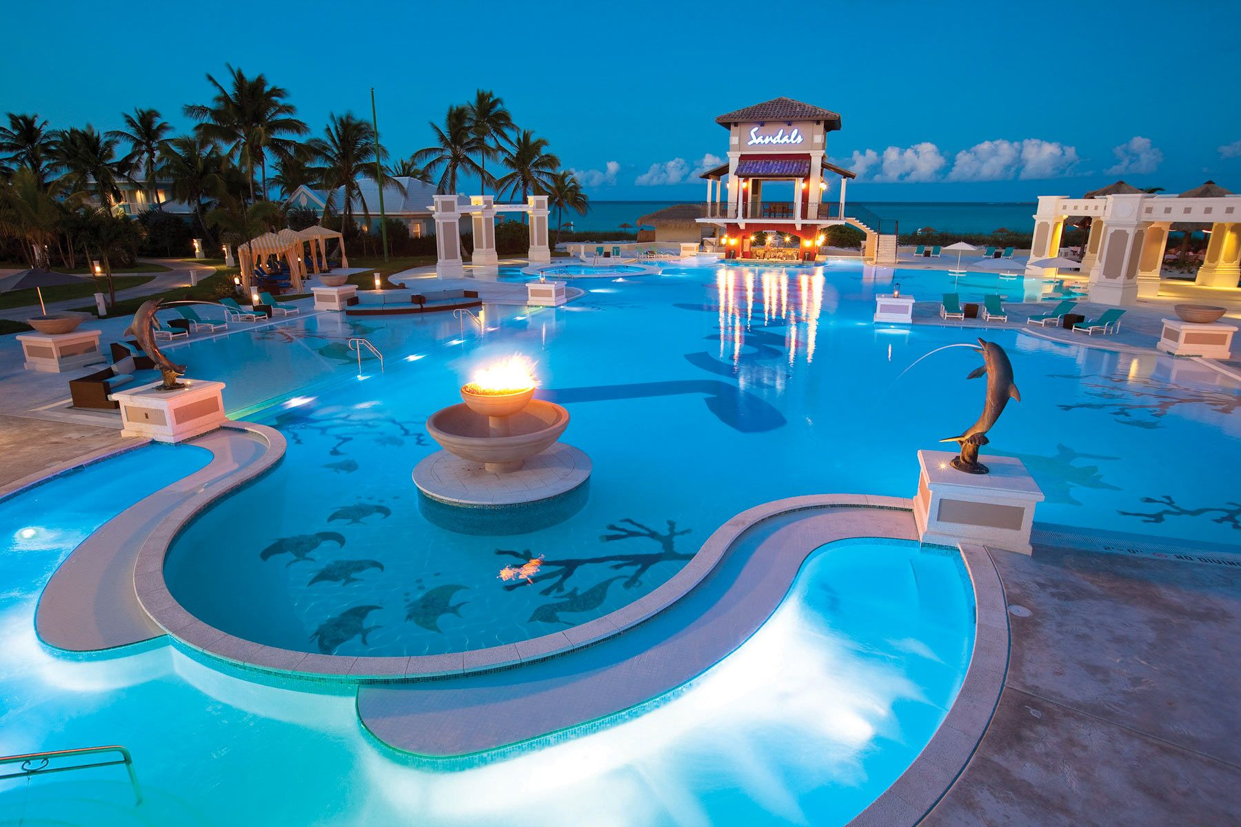 The best all inclusives in the caribbean exuma bahamas for Top caribbean honeymoon resorts