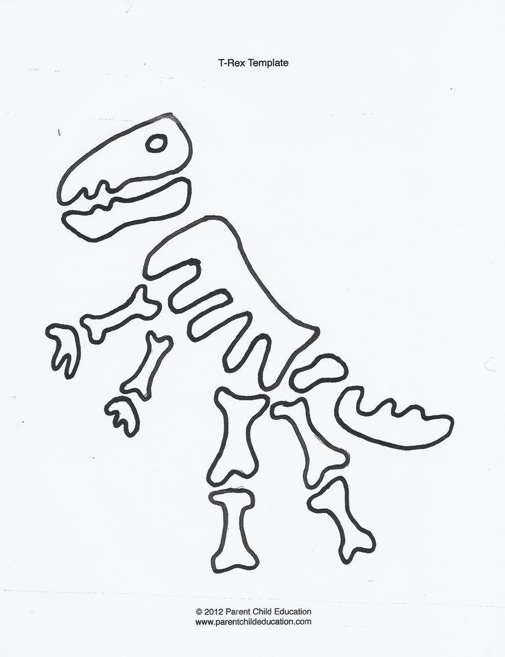 Malvorlage Dino Skelett   Aiquruguay