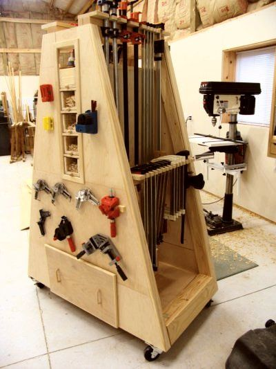 A-Frame Clamp Center | My WoodShop in 2019 | Woodworking ...