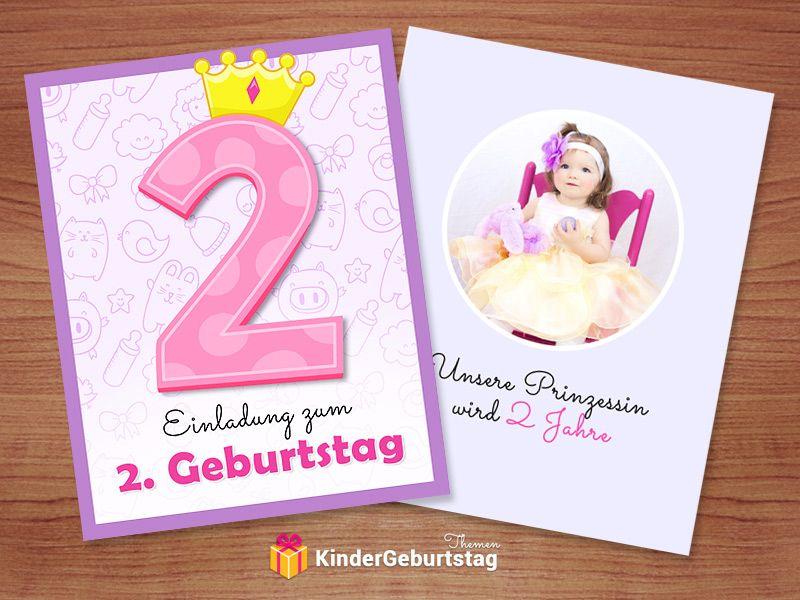 Einladung 2 Geburtstag Originelle Vorlagen Zum Herunterladen Einladung Kindergeburtstag Einladung Kindergeburtstag Basteln 2 Geburtstag