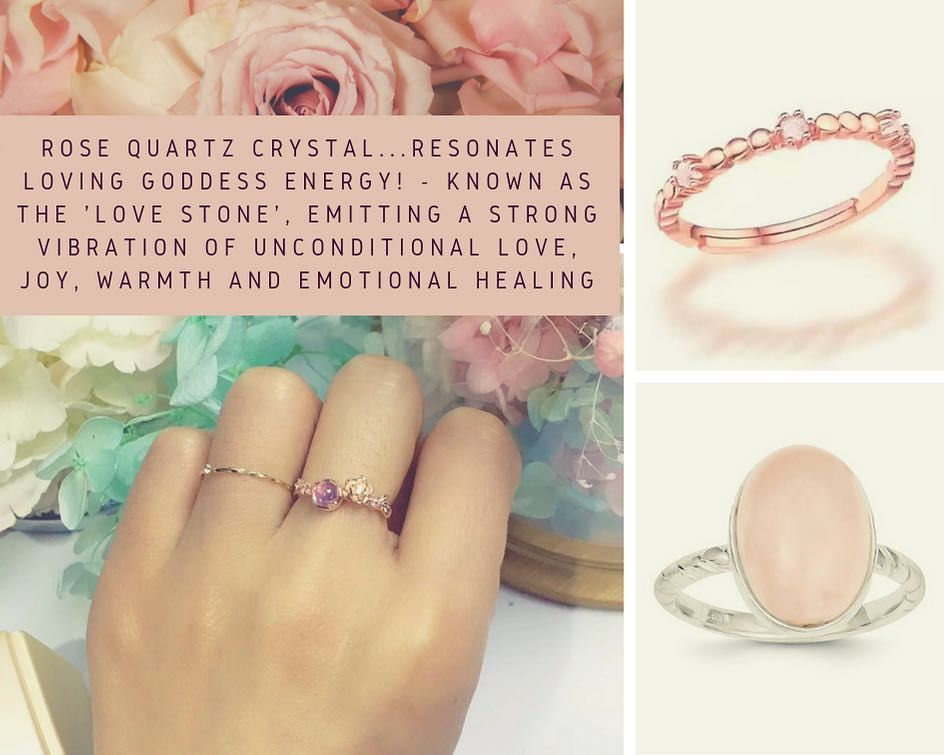 The fair and lovely Rose Quartz, speaks directly to the