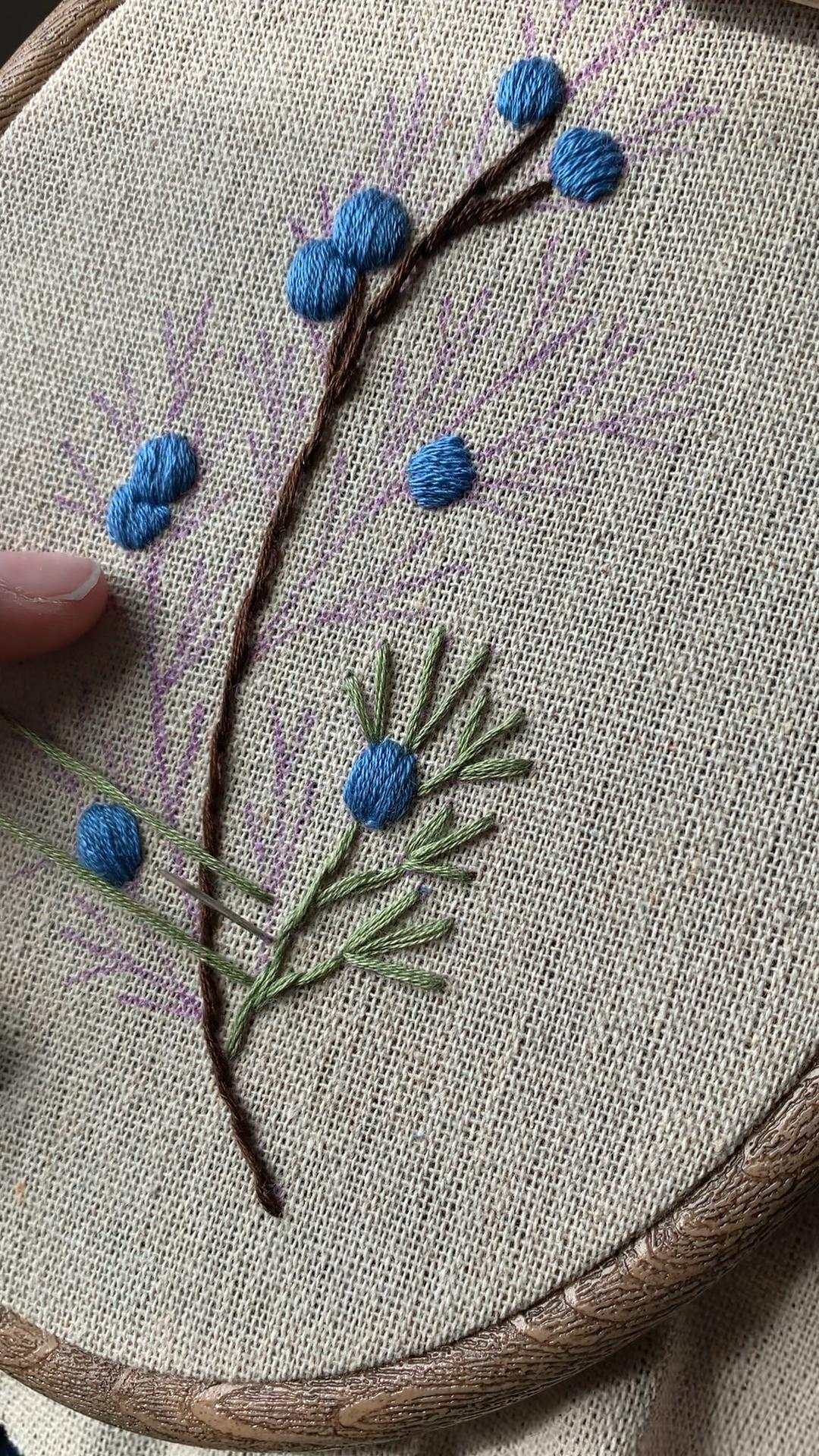 Stem Stitch