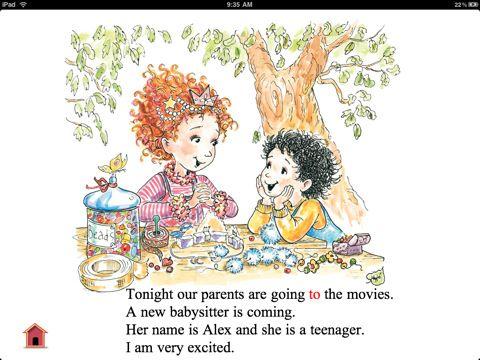 Fancy Nancy and the Sensational Babysitter iPad Best