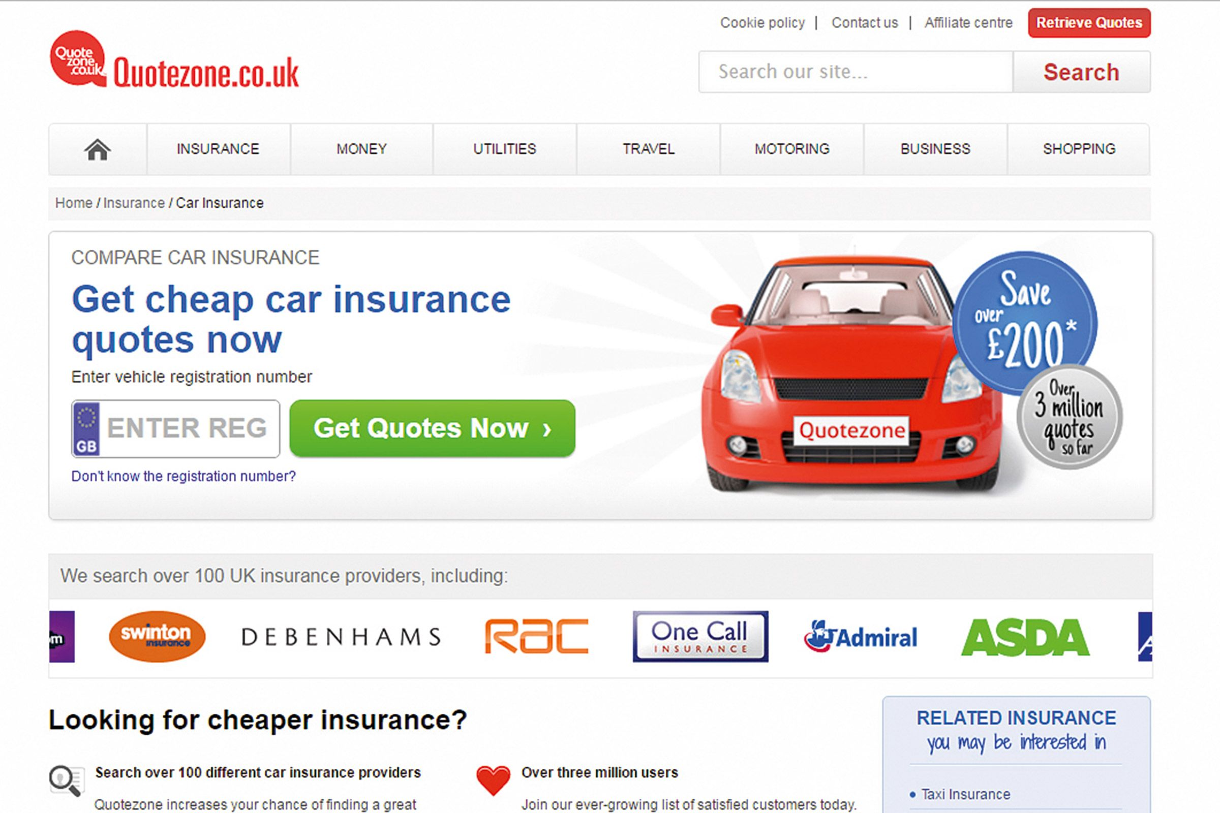 Best car insurance quotes uk Budget car insurance phone