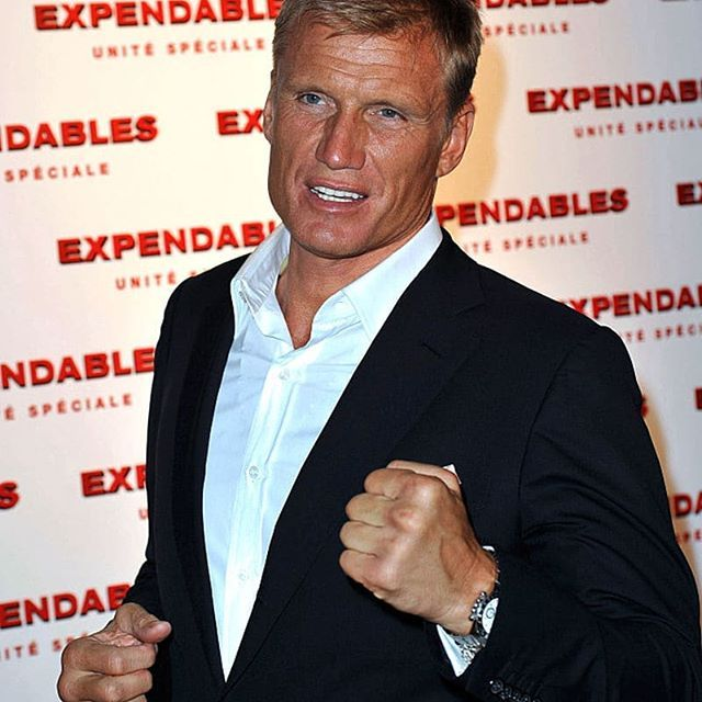 Dolph during the Expendables Unite Speciale Paris premiere at Le Grand Rex on August Dolph during the Expendables Unite Speciale Paris premiere at Le Grand Rex on August...