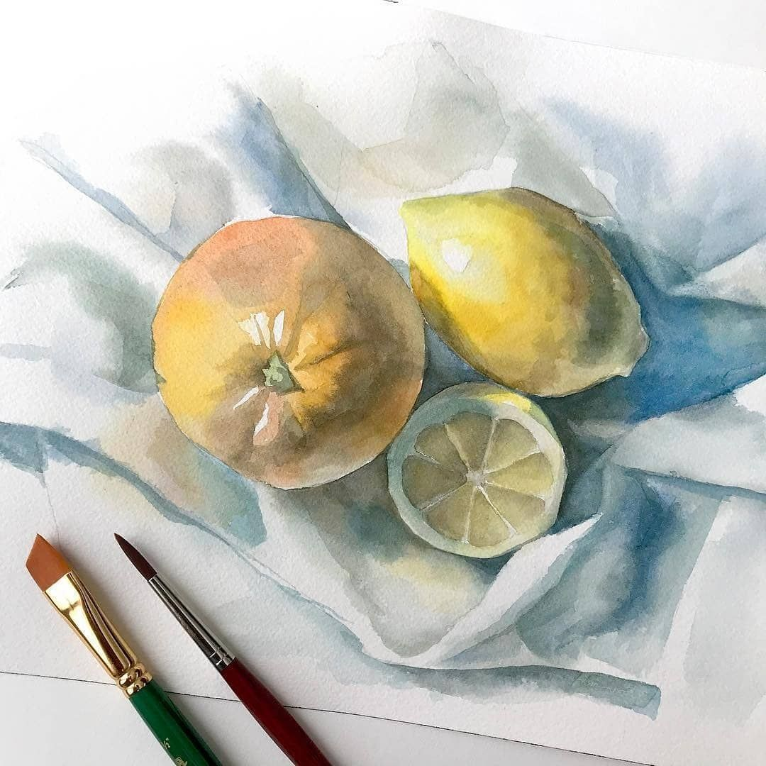 Top Watercolor Gallery Watercolor Daily Instagram Photos And