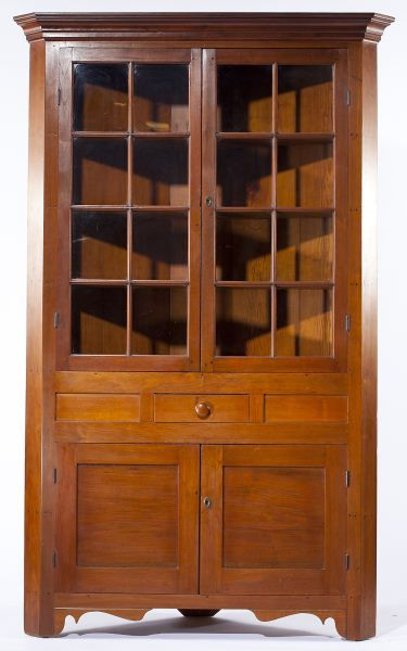 Lot 144 Southern Corner Cupboard Southern Furniture Corner Cupboard Cupboard