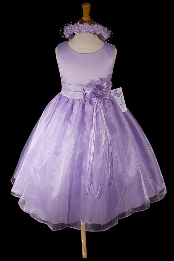 bing dresses pictures | Lilac Flower Girl Dress | Amazing dresses ...