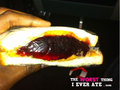 Worst Thing I Ever Ate Airplane Food Pb J