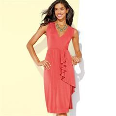 Order at youravon.com/bkeller with me Avon Rep Ben Keller for free shipping on all orders over $40. I personally ship out free gifts and samples after every order placed! Register with me for exclusive email offers! Flattering Side Ruffle Dress in Outlet