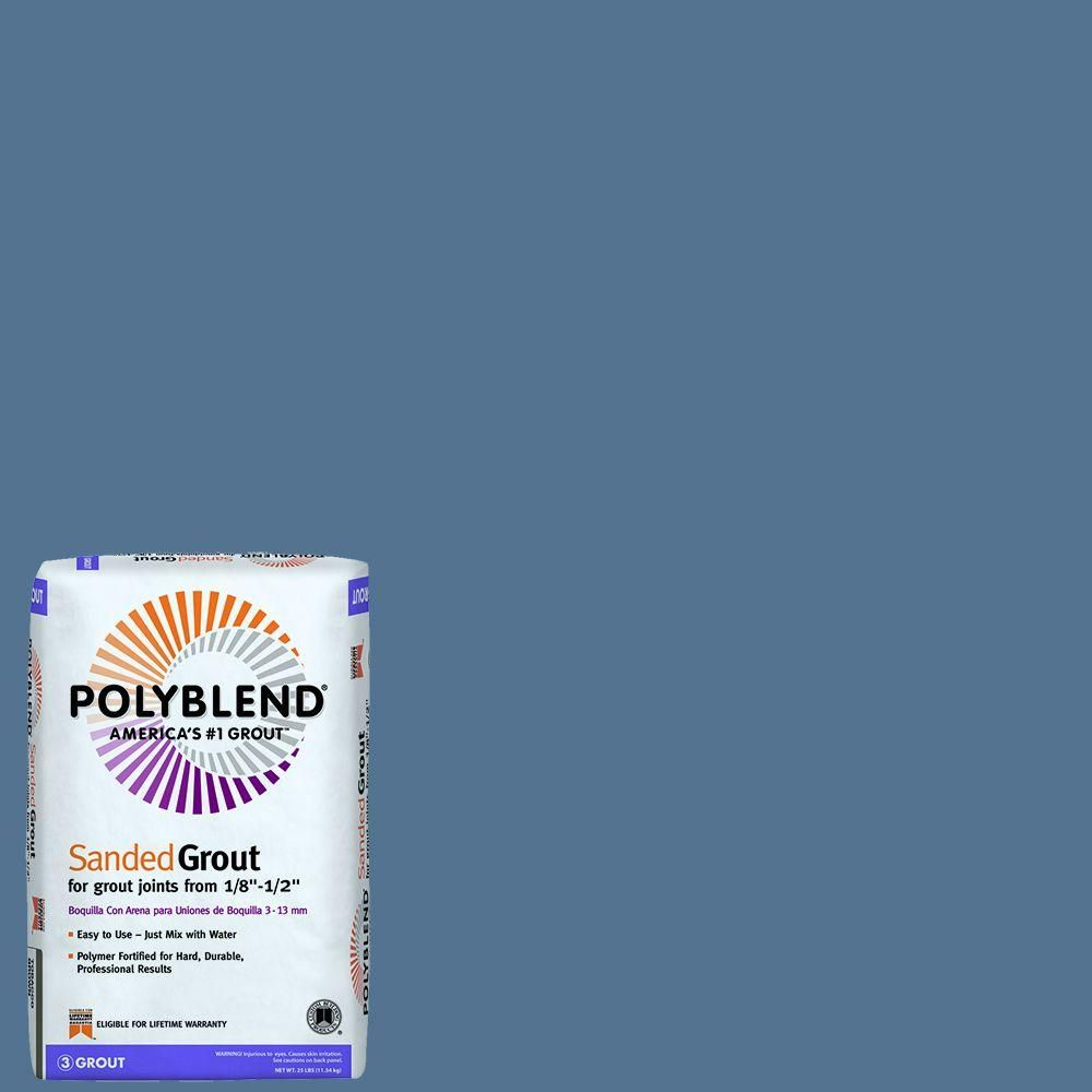 Custom Building Products Polyblend #90 Ocean Blue 25 lb. Sanded ...