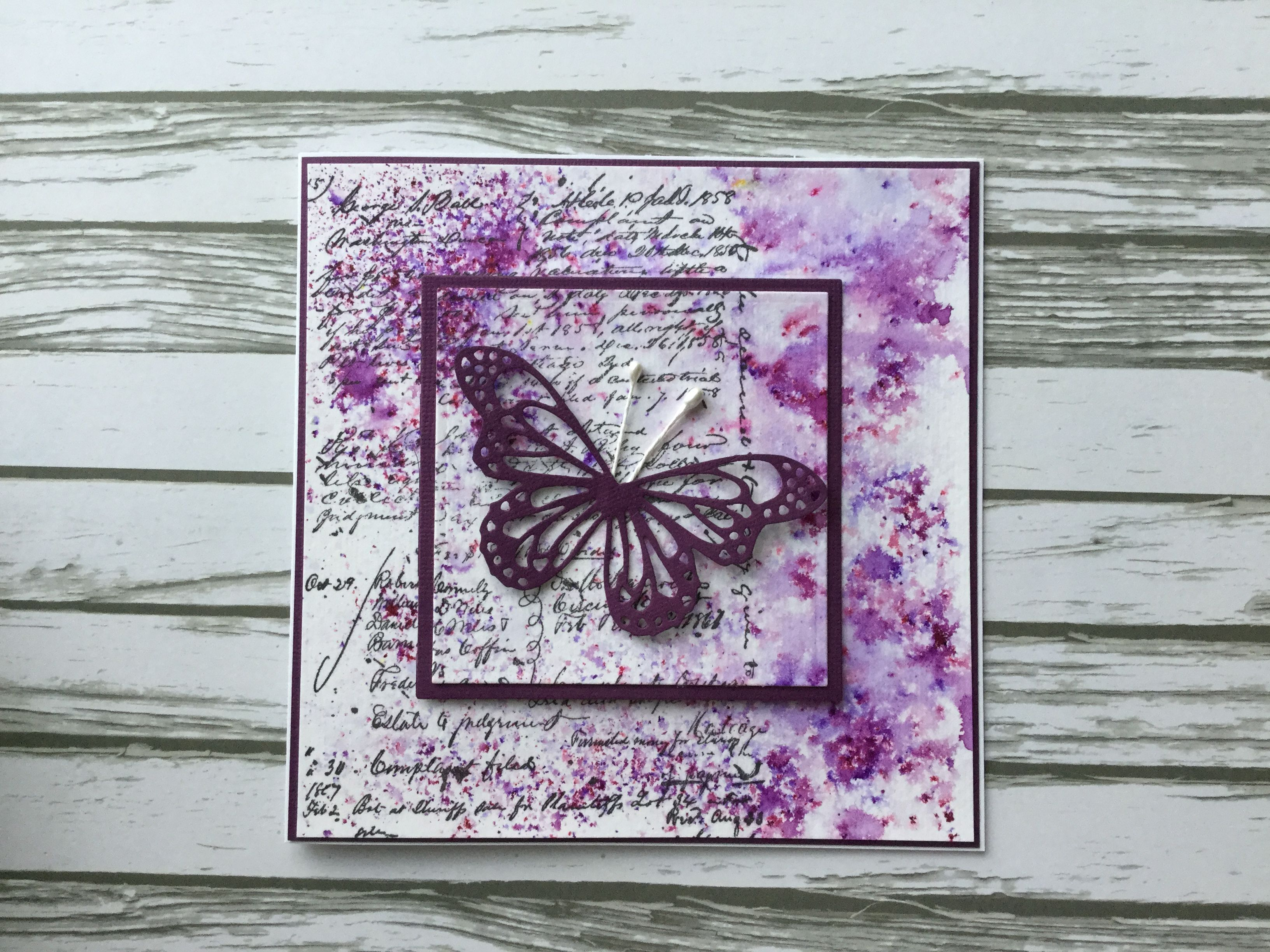 pinsusan hartley on greeting cards in 2020  butterfly