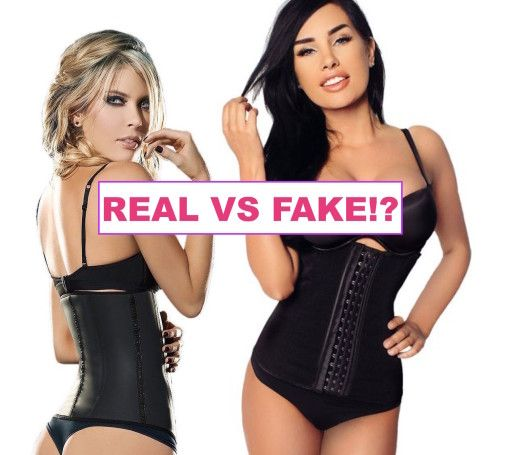 b059b9e578cf3 How to tell the difference between real Colombian and fake Chinese   waisttrainers  waistshaper  fajas  waistcincher.