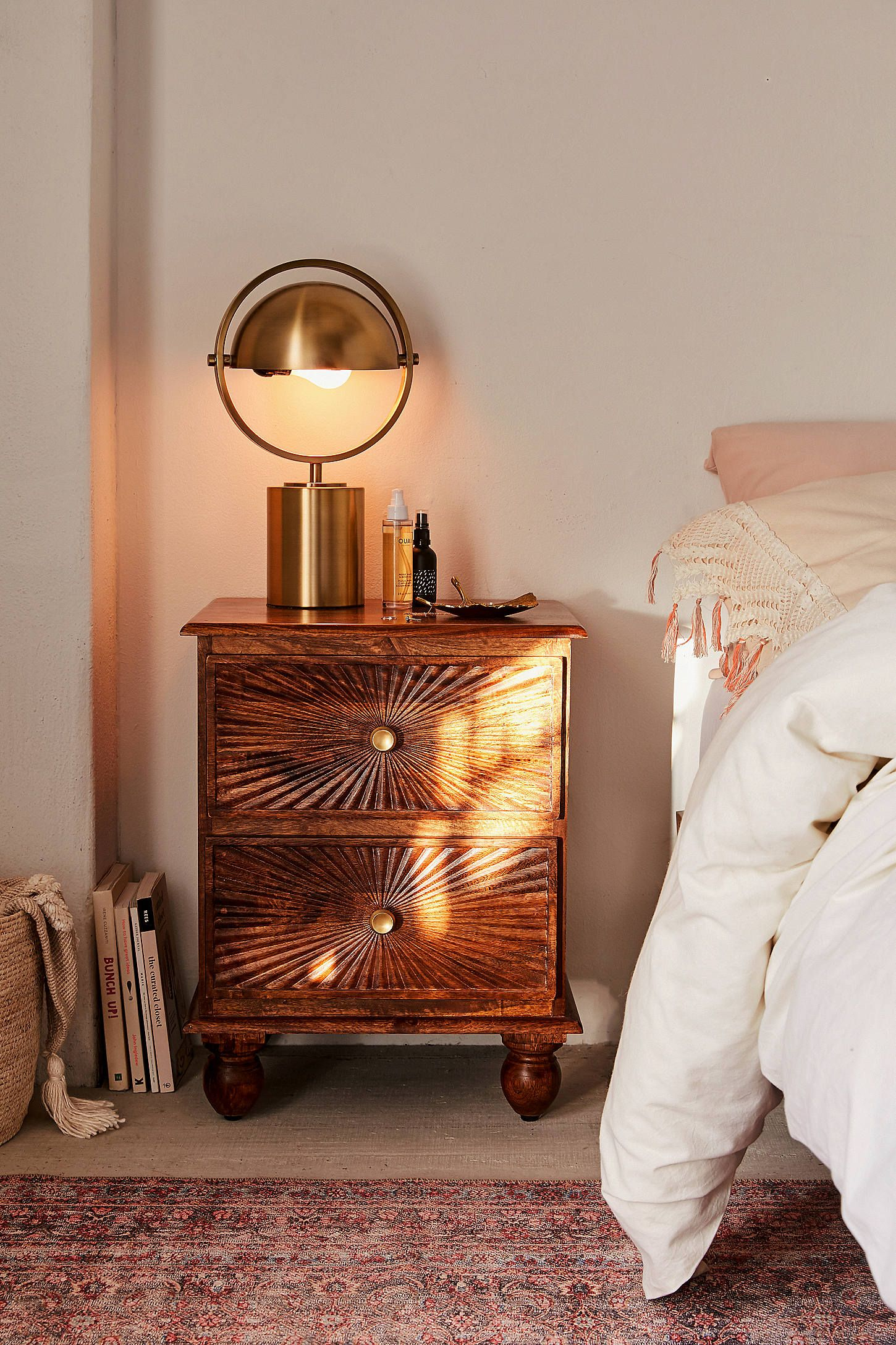 Sunburst Nightstand Urban Outfitters Home Home Decor Bedroom