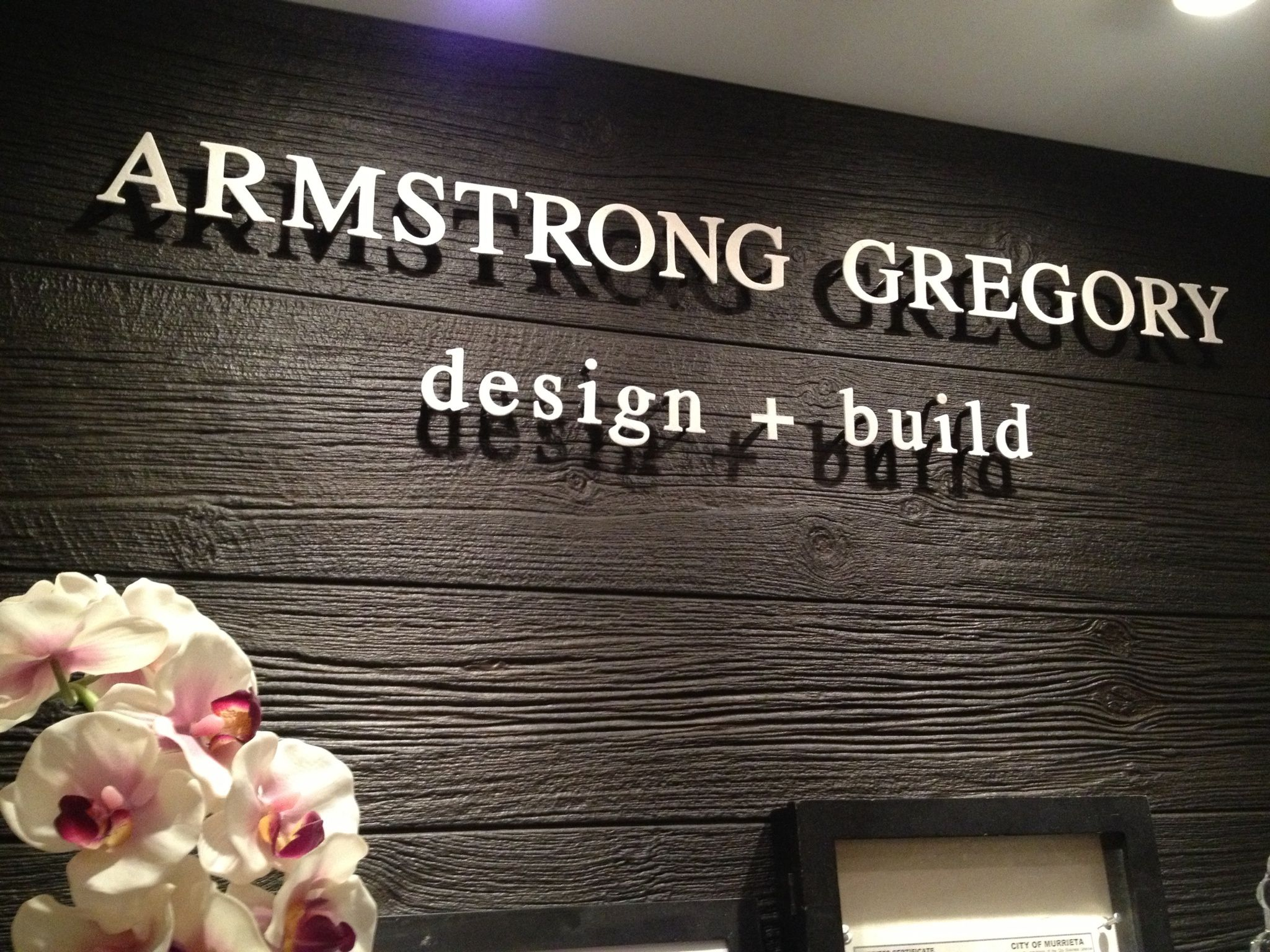 Armstrong Gregory Home Office Marquee