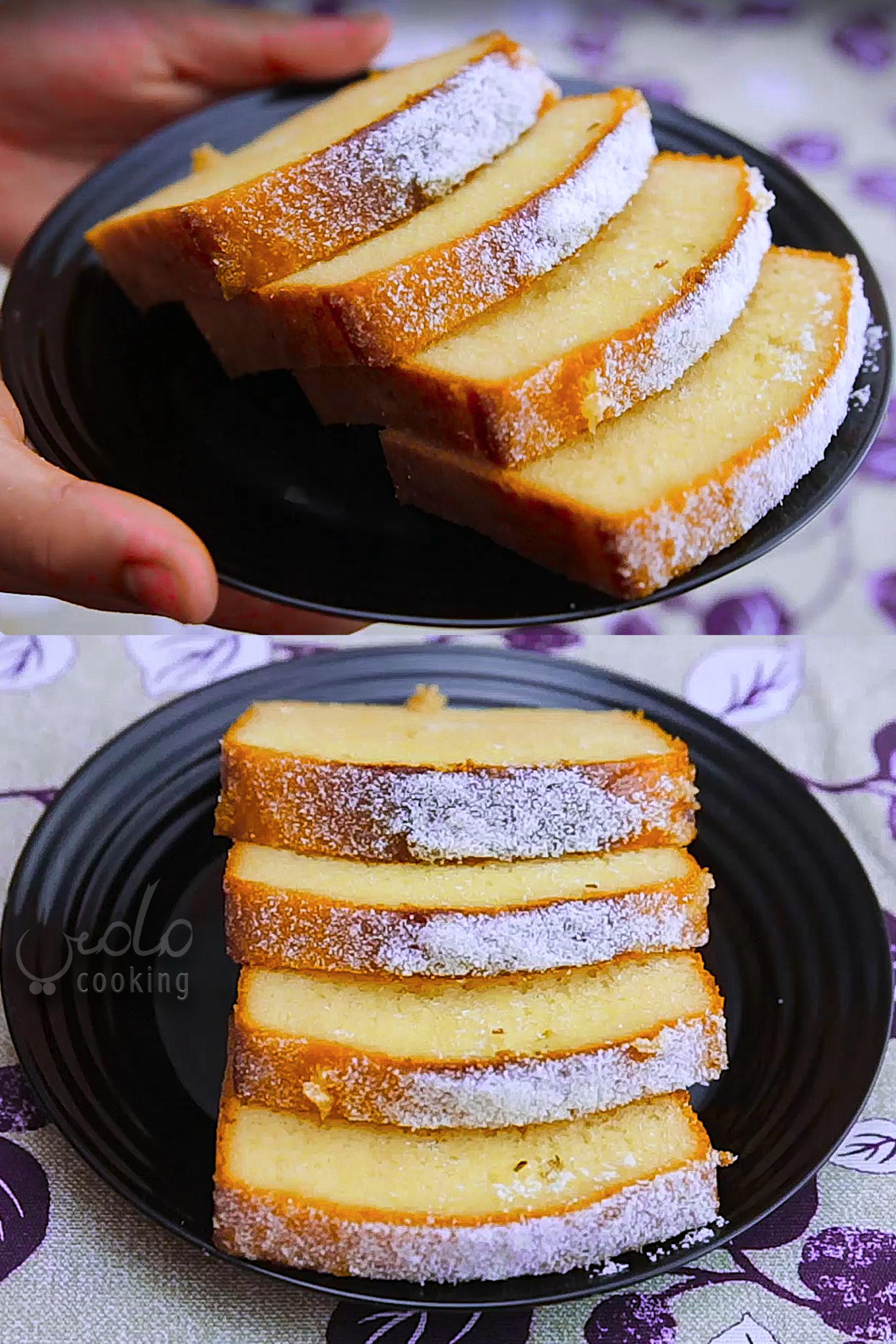 طريقة عمل كيكة عادية سهلة هشة ولذيذة Yogurt Cake Desserts Cake