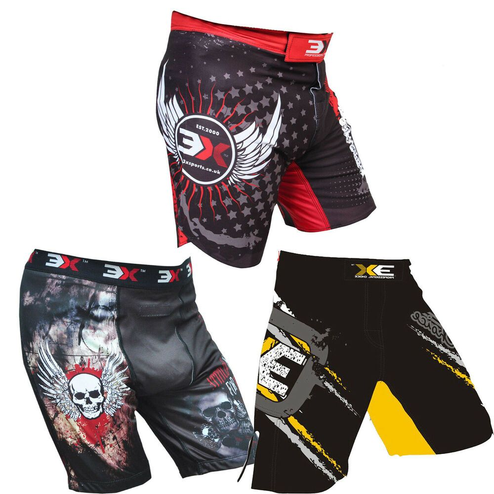 Mma fighting bjj short ufc cage grappling boxing muay thai
