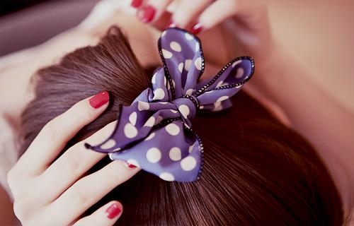 purple ribbon...