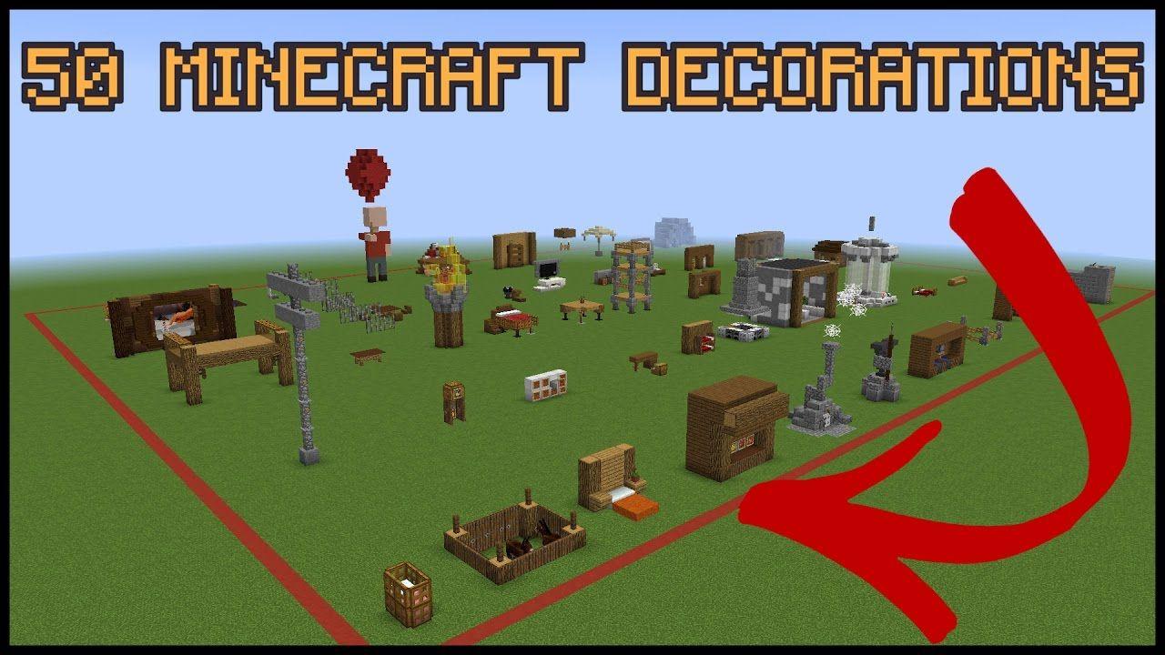 43+ 50 minecraft decoration ideas inspirations