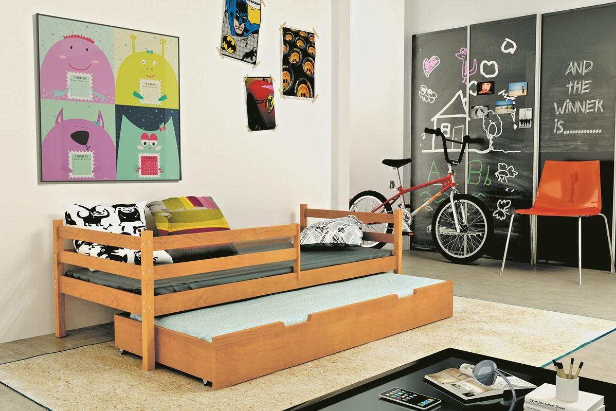 Kinder-Doppelbett Simon in 2 unterschiedlichen Dekoren Diese Kinderbetten unterscheiden sich von anderen in Kreativität, Schönheit und durch den Einsatz natürlicher Ressourcen. Das modular aufgebaute moderne... #kinder #kinderzimmer #kinderbett #doppelbett