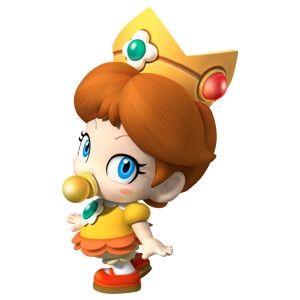 Mario Luigi La Princesa Peach Fueron Bebes En Algun Momento Unos Bebes De Lo Mas Adorable Conocelos A Traves Princess Daisy Baby Daisy Super Mario Art