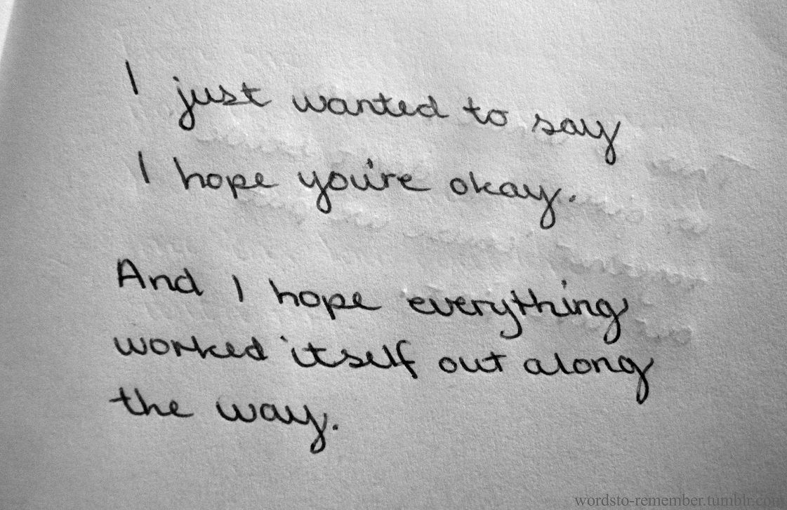 Ok Go The Writing S On The Wall Lyrics Words To Remember Words Its Okay Quotes Inspirational Words