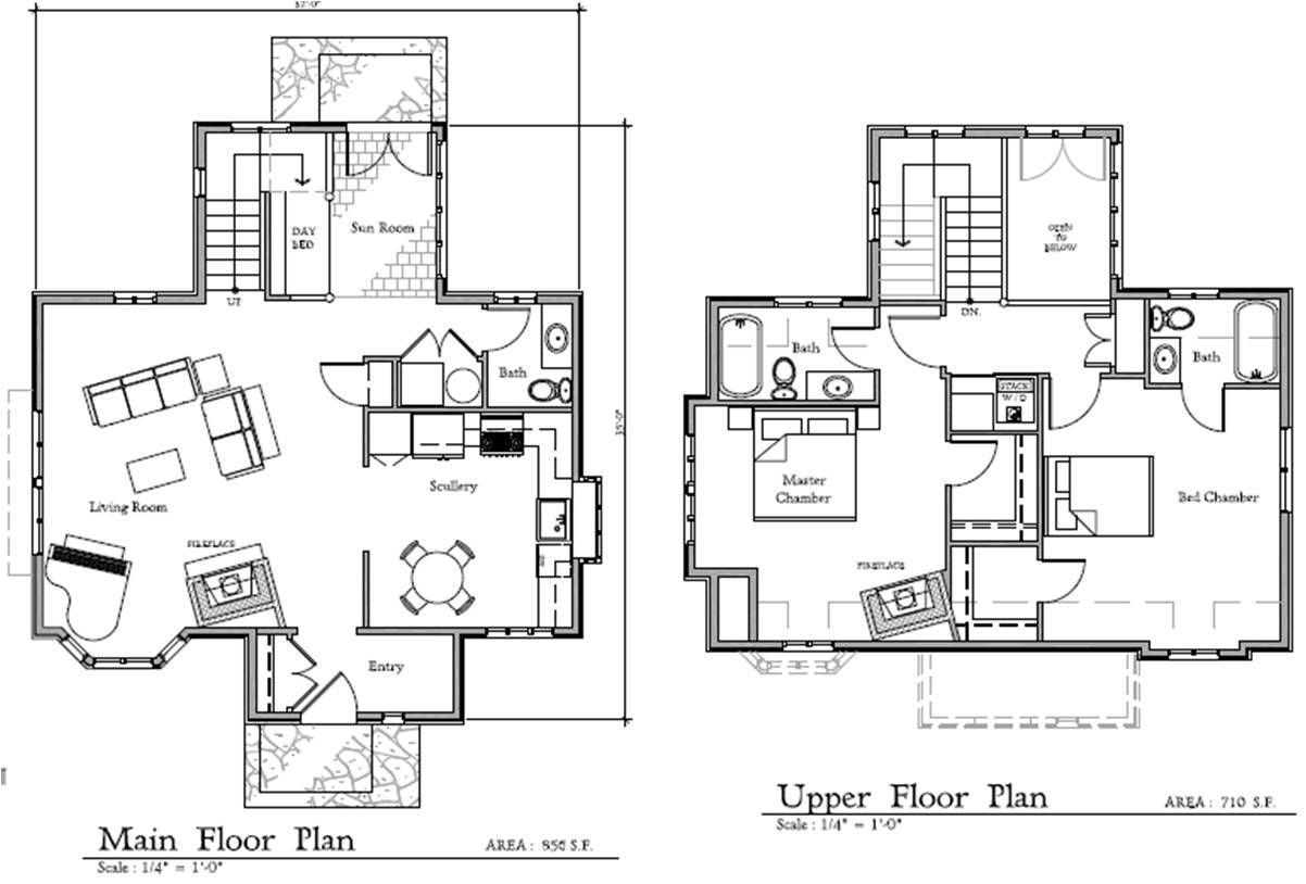 Fairy tale cottage house plans home design and style for Cottage floor plans