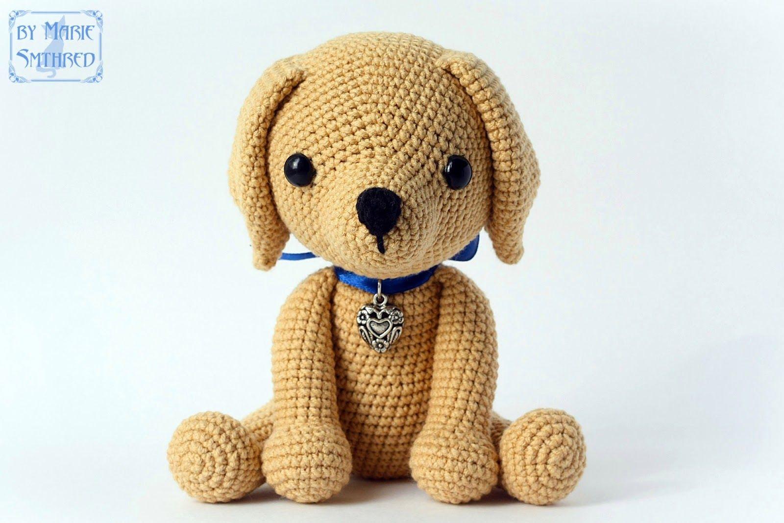 Вязаная собака амигуруми лабрадор крючком | AmiguRoom: вяжем ...