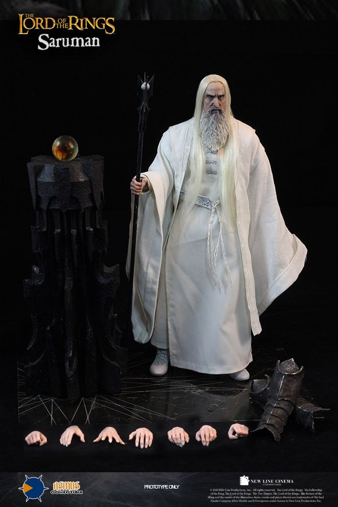 Asmus Toys 1/6 Hobbit The White Wizard Saruman Collection Action Figure New Box-in Action & Toy Figures from Toys & Hobbies on Aliexpress.com | Alibaba Group