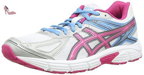 ASICS Patriot 7, Running Entrainement Femmes - Blanc (White/Hot Pink/Soft