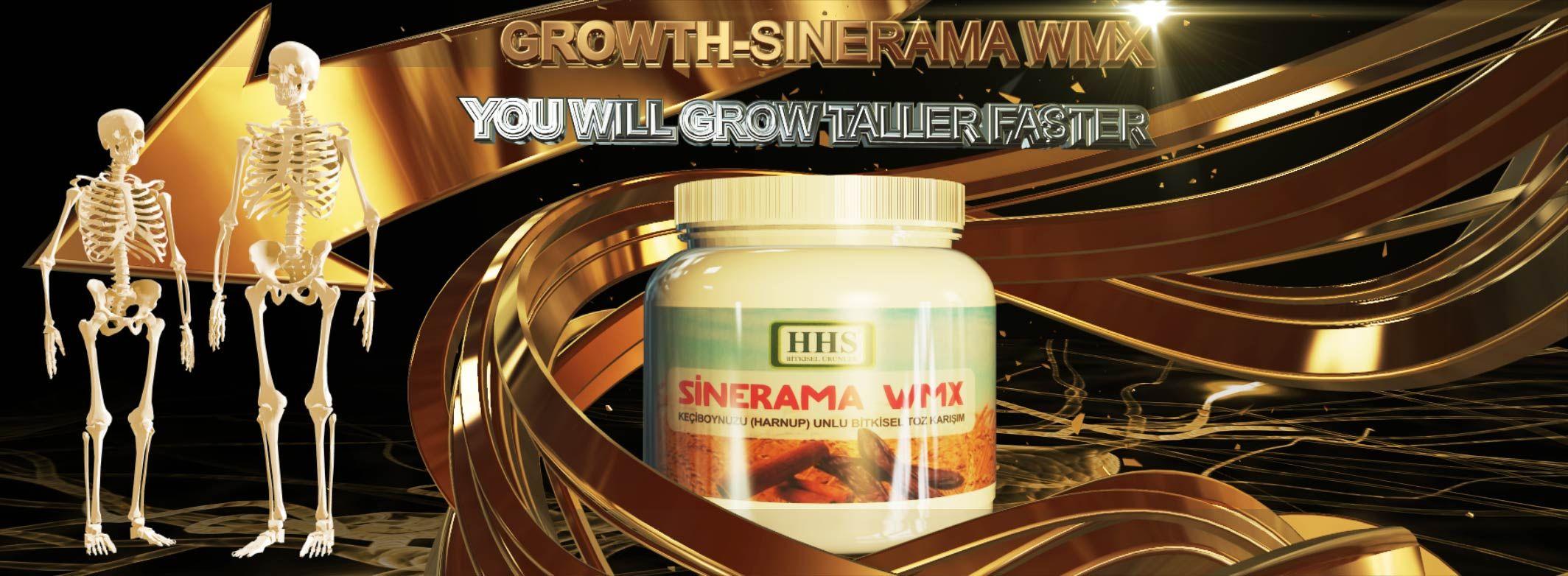 Growth-Sinerama WMX – Boost Your Height ! Growing Taller