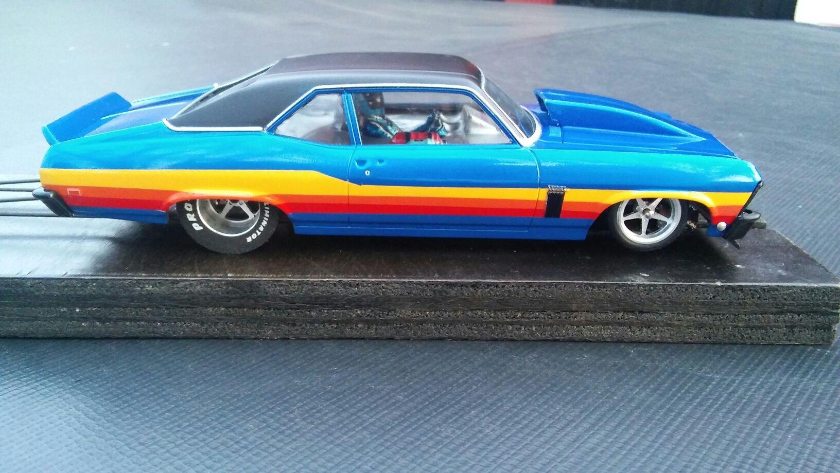 Nova Slot Car Replica | 68-72 Nova | Cars, Slot cars, Racing