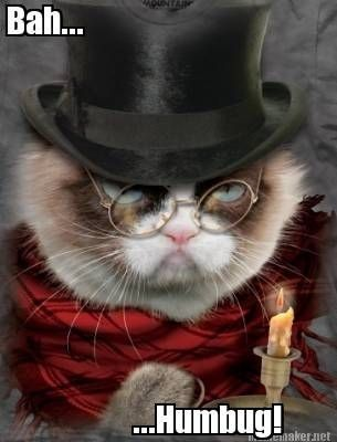 7c2b4e77e25de3081e9e0da3a965a935 bah humbug! humor rated (r) pinterest grumpy cat, cat and memes