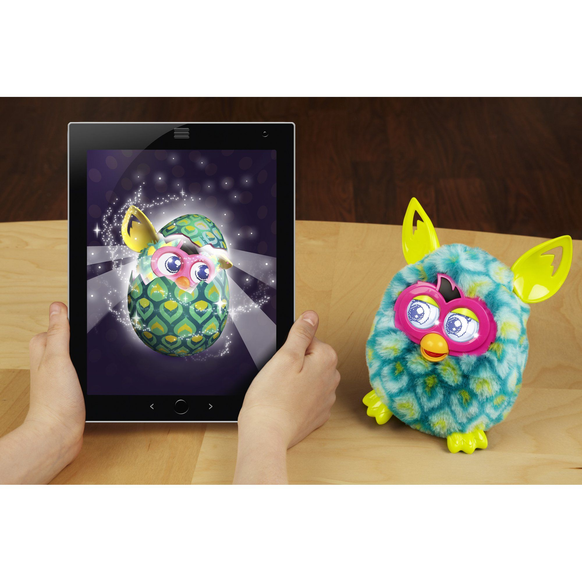 Furby boom figure peacock you can get more details by