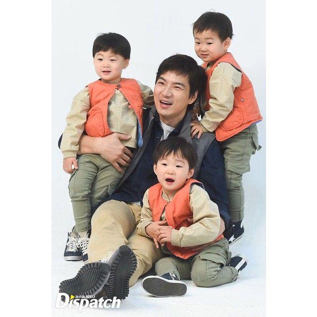 Daehan, Minguk, Manse and appa | KIA CF BTS