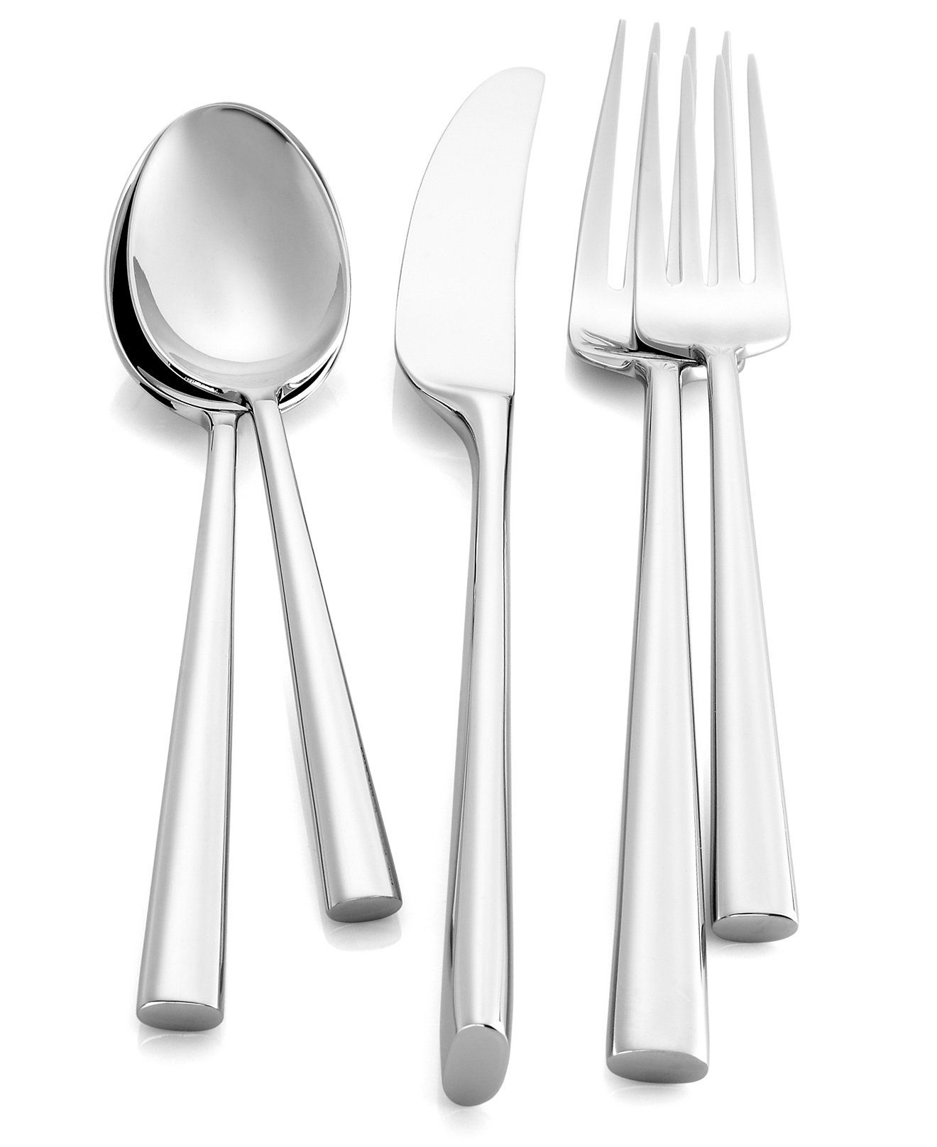 Malmo 5 Piece Place Setting Unique Utensils Modern