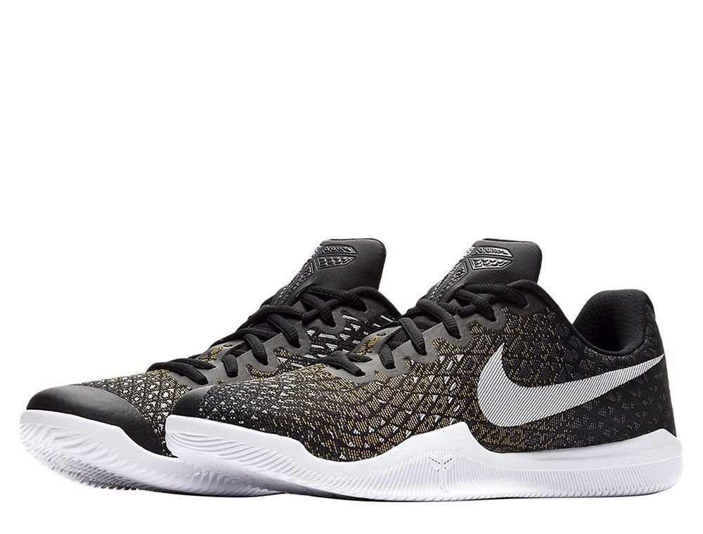 8ac2fd6aa70a Nike KOBE Mamba Instinct Mens Basketball Shoes 8.5 Black White Grey 852473  017  Nike  BasketballShoes