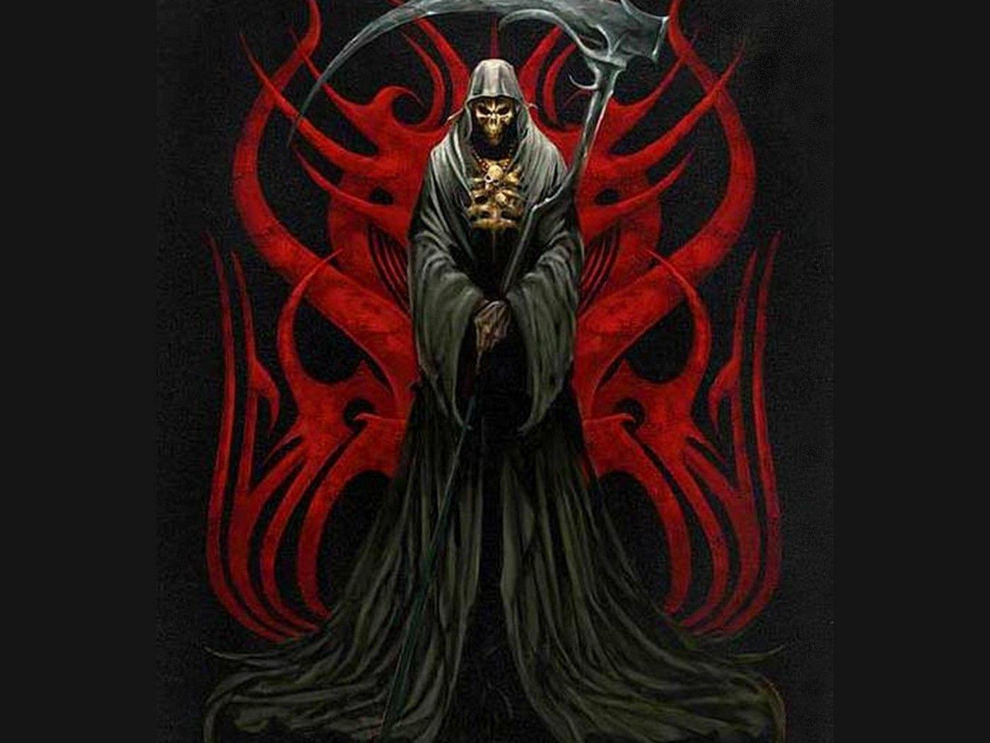 Pheonix M6 Reaper Wallpapers Grim Reaper Pictures Grim Reaper Skull Wallpaper